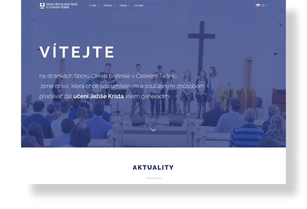 Web cbtesin.cz | Amplio Studio